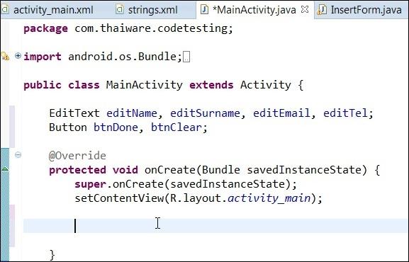 ร ว ว lesson 3 ความส มพ นธ ของ layout และโค ด java ในการเข ยน android