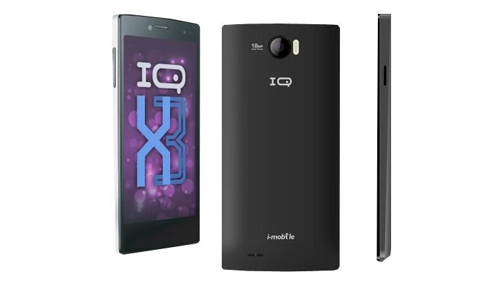 i-mobile IQ X3 สมาร์ทโฟนหน้าจอ Full HD รุ่นล่าสุดจากตระกูล IQ X