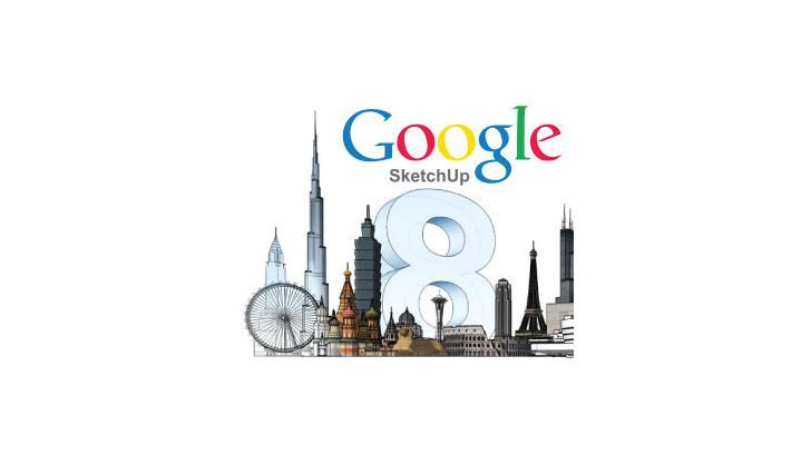 รีวิว Google Sketchup 8 ออกแบบงานกราฟิกแบบมืออาชีพ