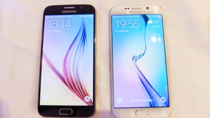 Samsung Galaxy S6 และ Galaxy S6 Edge กล้องสุดชัด CPU 8 Core ดีไซน์บางเฉียบ