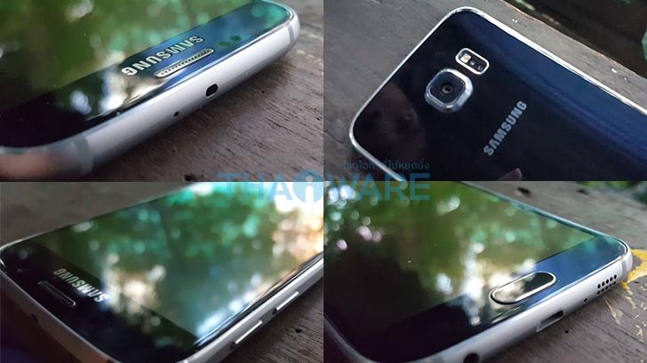 Samsung Galaxy S6 และ S6 Edge แอนดรอยด์ไฮโซ ดูโอกับกล้องสุดแจ่ม