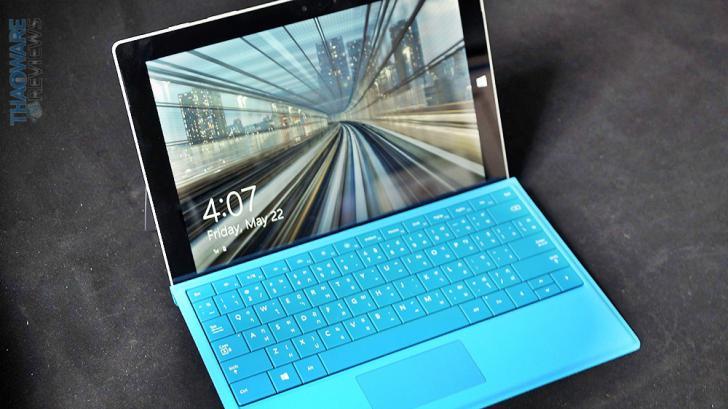 รีวิว Surface 3 วินโดว์แท็บเล็ตตัวเก่ง ที่พร้อมมาแทนที่ Notebook ที่คุณใช้อยู่