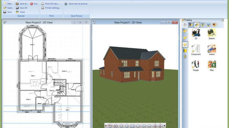 รีวิว Ashampoo 3D CAD Professional โปรแกรมออกแบบบ้าน ครบเครื่อง ราคาย่อมเยาว์