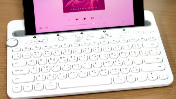 รีวิว Logitech Multi-Device Keyboard k480 หนึ่งคีย์บอร์ด ครองพิภพ