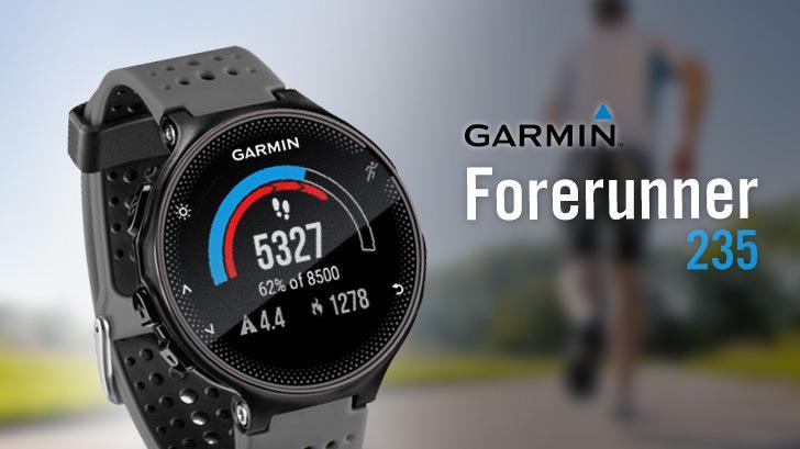 GARMIN Forerunner 235 นาฬิกา GPS สำหรับนักวิ่งตัวจริง ที่ใส่ใจเรื่องสุขภาพ