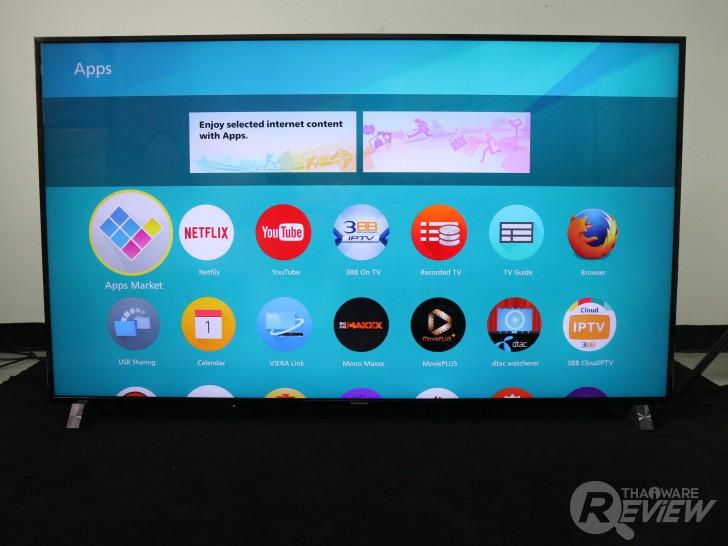 Panasonic Viera TV TH-65DX900T อัลตร้าทีวี 4K Pro ระดับไฮเอนด์ ขับเคลื่อนด้วย Firefox OS