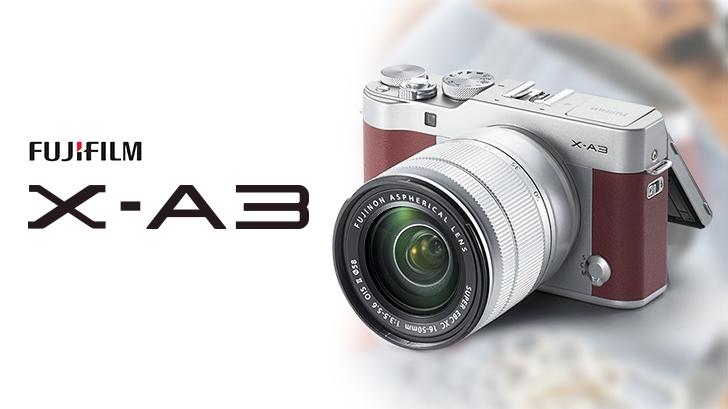 พรีวิว Fuji X-A3 กล้องมิลเลอร์เลสทัชสกรีนสายหวาน พร้อมยกระดับความสดใส