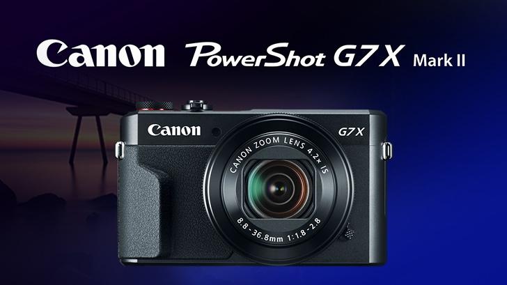 Canon PowerShot G7X Mark II ตัวเล็กสเปคมือโปร
