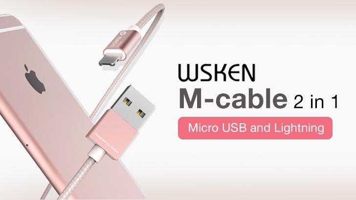 รีวิว พกสายเดียวจบ WSKEN M-cable 2 in 1 ชาร์จได้ทั้ง iPhone iPad และ Android ภายในหัวเดียว