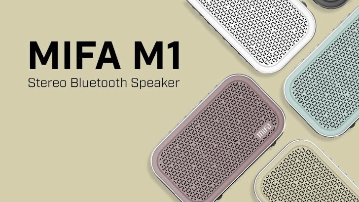 Mifa M1 ลำโพงบลูทูธตัวเล็ก เสียงดี ฟังเพลงได้ในทุกสถานที่