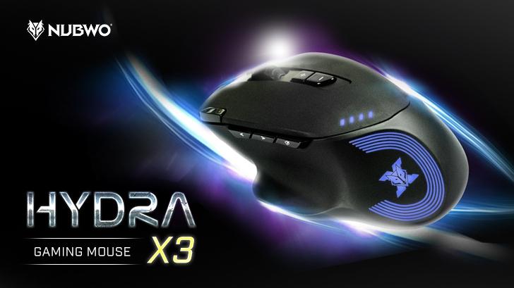 Nubwo Hydra X3 เมาส์เกมมิ่ง ในราคาเอื้อมถึง