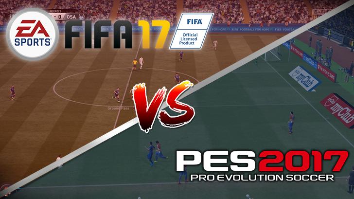 พรีวิว จะซื้อเกมส์ไหนดี FIFA 17 หรือ Pro Evolution Soccer 2017 สองสุดยอดเกมส์ฟุตบอลแห่งปี