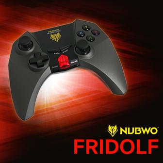 รีวิว NUBWO FRIDOLF เกมส์คอนโทรลเลอร์บลูทูธแอนดรอยด์ มีทัชแพดในตัว