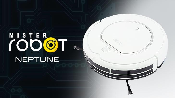 รีวิว หุ่นยนต์ดูดฝุ่นอัจฉริยะ Mister Robot Neptune ดูดฝุ่นและถูพื้นได้ในตัวเดียว