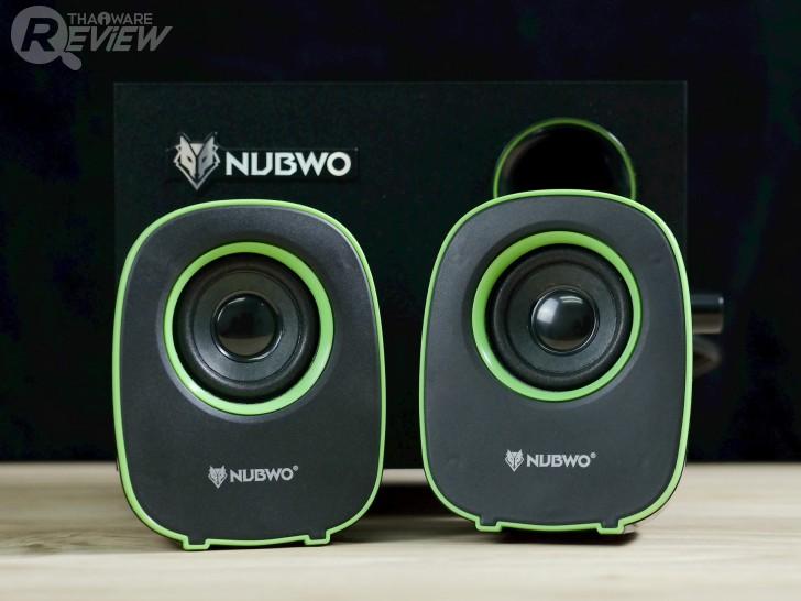 NUBWO NS-030 ลำโพง 2.1 พร้อม Subwoofer ราคาสุดถูก พลังเสียงเกินคาด จากค่ายหมาป่า