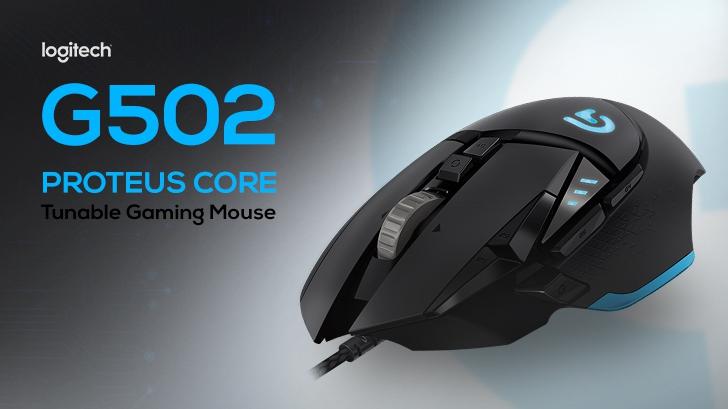 รีวิว Logitech G502 Proteus Core Gaming Mouse เมาส์เพื่อเกมเมอร์อย่างแท้จริง!