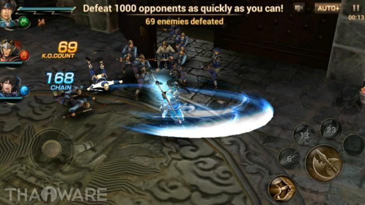 Dynasty Warriors: Unleashed ความมันส์จากคอนโซลส่งต่อยังมือถือ!