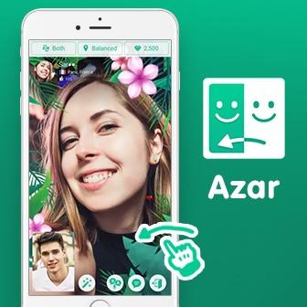 Azar วีดีโอคอลคุยกับเพื่อนมากมาย พร้อมเอฟเฟคสร้างสีสัน สนุกทุกอิริยาบถ