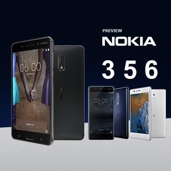 พรีวิว Nokia 3 , 5 และ 6 มีความดีงามเพราะสวมหัวใจ Pure Android ในราคาสุดคุ้ม
