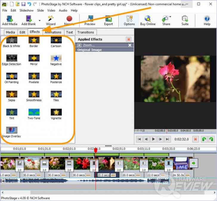 PhotoStage Slideshow Producer ตัดต่อคลิปวีดีโอง่ายๆ ได้ดั่งใจ