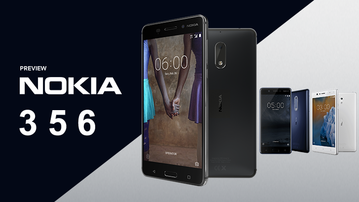 Nokia 3 , 5 และ 6 มีความดีงามเพราะสวมหัวใจ Pure Android ในราคาสุดคุ้ม