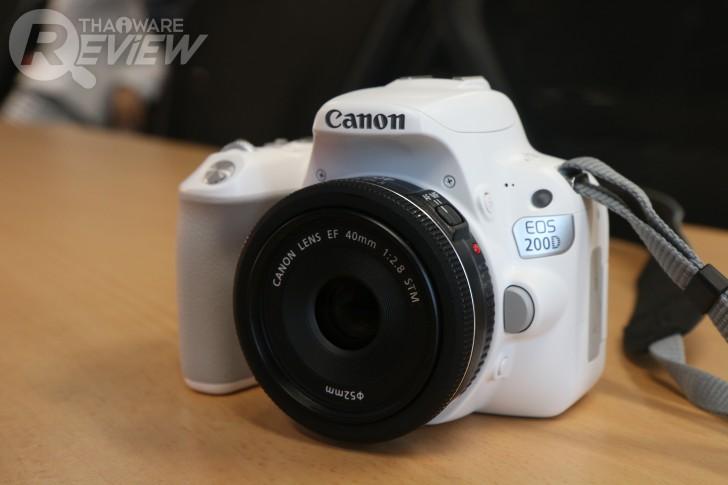 Canon EOS 6D Mark II, EOS 200D กล้อง DSLR สองระดับ ตอบโจทย์คนงบน้อย