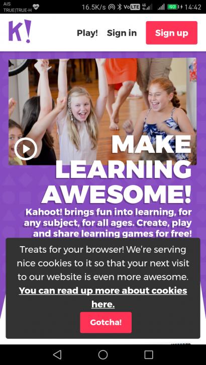 สร้างการมีส่วนร่วม สื่อการเรียนการสอน จัดกิจกรรม เกมส์ชิงรางวัล ผ่านบริการ Kahoot