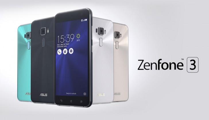 ASUS Zenfone 3 รุ่นแรม 4GB ดีไซน์หรู กล้องชัด สเปคแรง