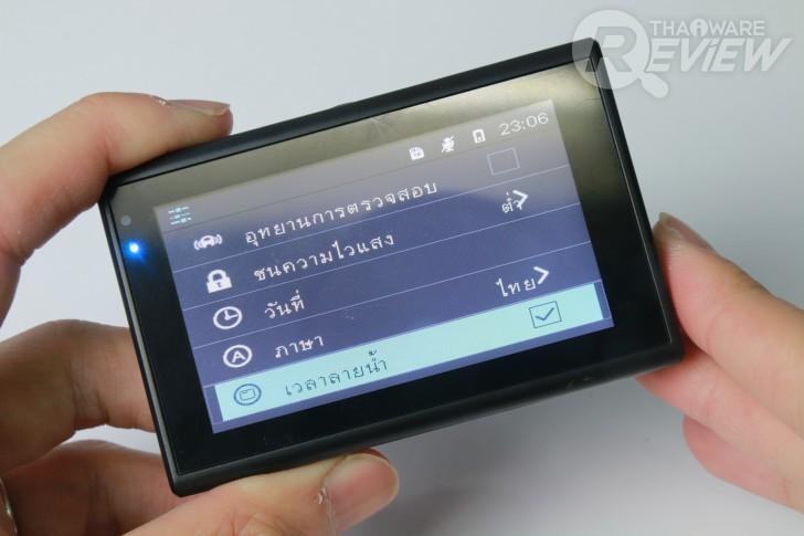 กล้องติดรถยนต์ หน้า-หลัง Dual Lens BlackBOX DVR G60 WDR ความละเอียด Full HD ราคาใสๆ