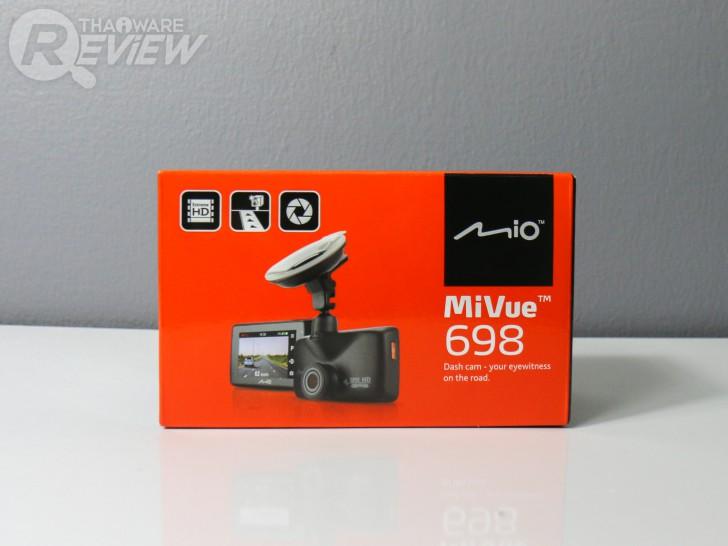 MiVue 698 กล้องติดรถยนต์คุณภาพสูง มี GPS ในตัว ภาพชัดแม้ยามกลางคืน