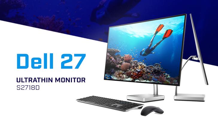 รีวิว Dell 27 Ultrathin Monitor S2718D จอมอนิเตอร์ที่บางที่สุดในโลก