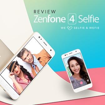ASUS Zenfone 4 Selfie ดีไซน์สวย กล้องหน้าคู่ ถูกใจวัยเซลฟี่ ถ่ายหน้าชัดหลังเบลอได้
