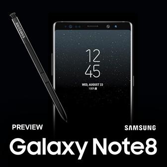 พรีวิว Samsung Galaxy Note 8 สมาร์ทโฟนเรือธง เด่นด้วย S Pen และกล้องหลังคู่ 12 ล้านพิกเซล