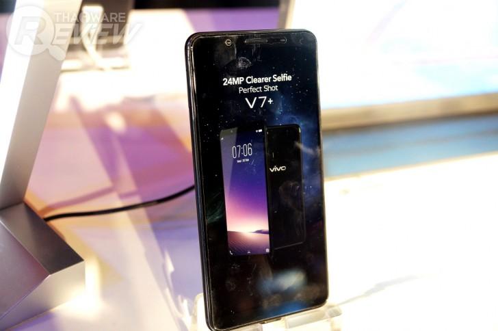 Vivo V7+ เซลฟี่สมาร์ทโฟน กล้องหน้า 24 ล้านพิกเซล จอภาพไร้ขอบ ในราคาแค่ 11,990 บาท