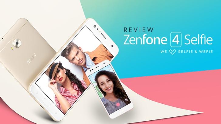 รีวิว ASUS Zenfone 4 Selfie ดีไซน์สวย กล้องหน้าคู่ ถูกใจวัยเซลฟี่ ถ่ายหน้าชัดหลังเบลอได้