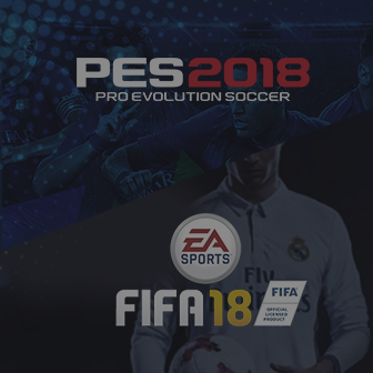 PES 2018 or FIFA18 วัดกันให้ชัด! เกมส์ไหนใช่สำหรับคุณ!