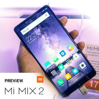 พรีวิว Xiaomi Mi MIX 2 สานต่อสมาร์ทโฟนไร้ขอบ พื้นผิวเซรามิก หรูหรา ราคาจับต้องง่าย
