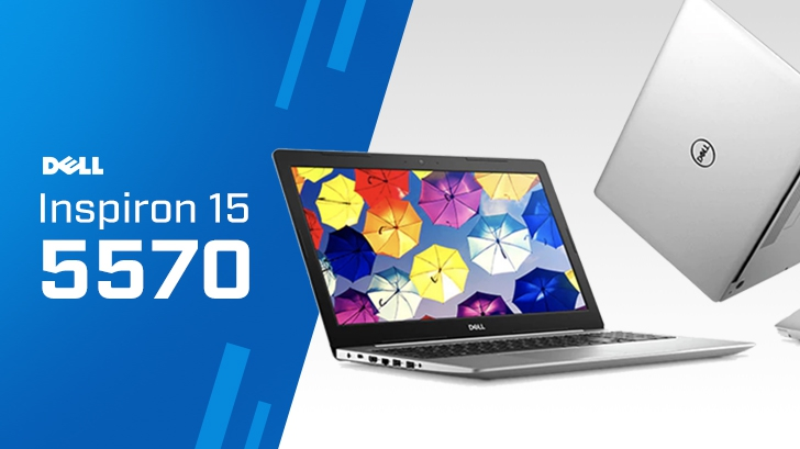 รีวิว DELL Inspiron 15 5570 โน๊ตบุ๊คจอใหญ่ 15 นิ้ว ขุมพลัง Intel Core i Gen 8