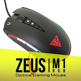 รีวิว GAMDIAS ZEUS M1 RGB เมาส์เทพสายฟ้า แสงสี มาโคร มาครบ