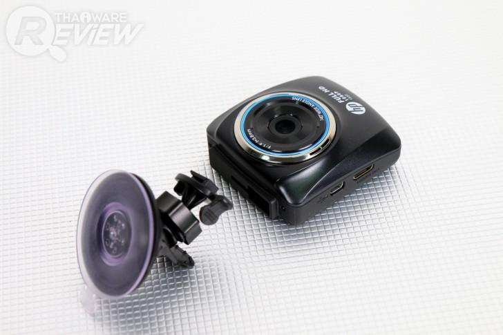 hp f350 กล้องติดรถคุณภาพไว้ใจได้ ภาพชัดระดับ Full HD มีระบบแจ้งเตือนป้องกันหลับใน