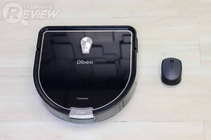 Dibea D960 หุ่นยนต์ดูดฝุ่น D-shape ซอกซอนทำความสะอาดได้มากกว่า ใช้งานง่าย