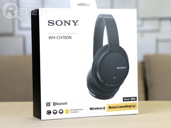 Sony WH-CH700N หูฟังครอบหูแบบไร้สาย พร้อมระบบตัดเสียงรบกวน ฟังได้นานถึง 35 ชั่วโมง