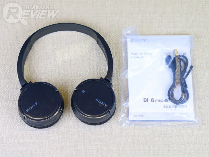 Sony WH-CH500 หูฟังไร้สายน้ำหนักเบา ราคาก็เบา แต่พลังเสียงไม่เบา