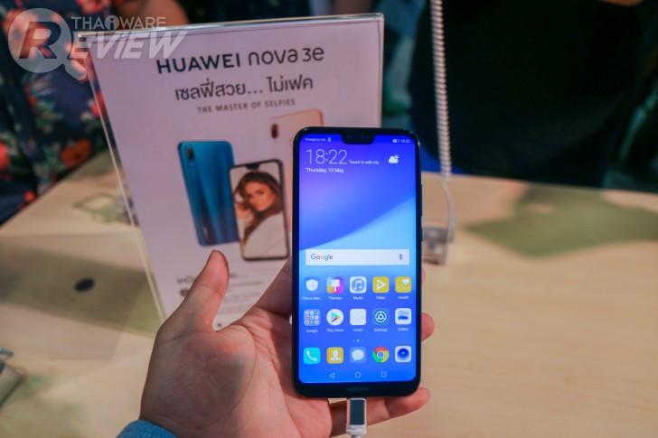 Huawei Nova 3e สมาร์ทโฟนระดับกลาง หน้าตาคุ้นๆ เซลฟี่สวยปังทุกสถานการณ์