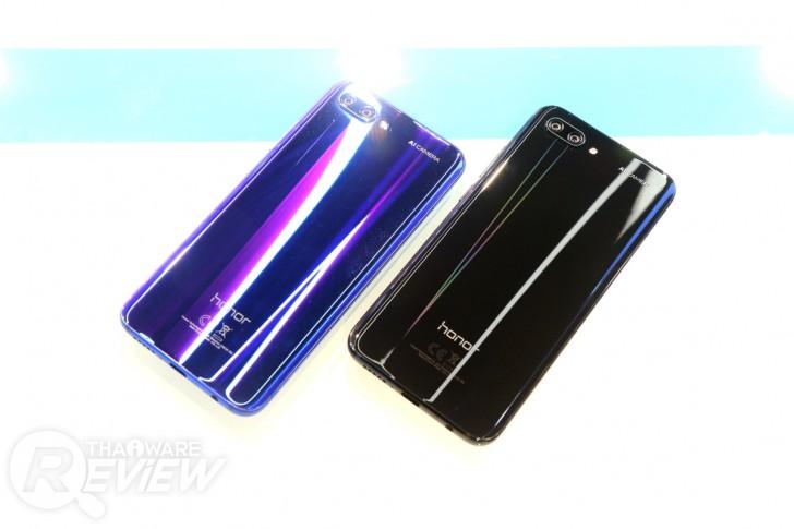 Honor 10 มือถือตัวแรงกล้องเด่น เรือนร่างงดงาม ในราคา 13,990 บาท