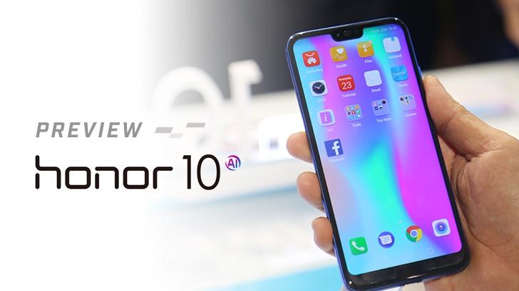พรีวิว Honor 10 มือถือตัวแรงกล้องเด่น เรือนร่างงดงาม ในราคา 13,990 บาท
