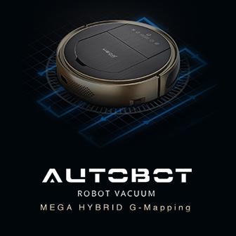 Autobot Mega Hybrid G-Mapping หุ่นยนต์ดูดฝุ่นฉลาดๆ ทำความสะอาดอย่างทั่วถึง