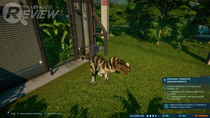 Jurassic World Evolution: บริหารจัดการสวนสัตว์ไดโนเสาร์ด้วยความสนุก! (ที่ค่อยๆ ได้รับ)