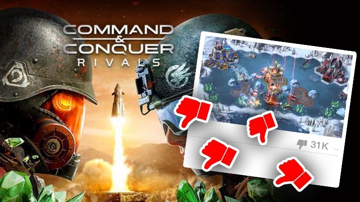 [บทความพิเศษ] เหตุใด Command & Conquer Rivals ถึงมียอดดิสไลค์บนยูทูบ ''ต่ำจนจมดิน!?''