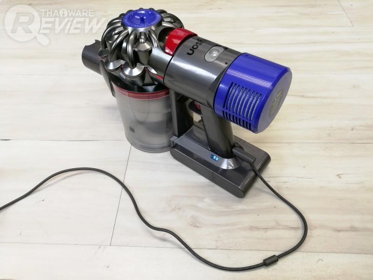 Dyson V8 Carbon Fibre เครื่องดูดฝุ่นไร้สาย อัพเกรดความแรง หัวดูดหลากหลาย จัดได้ทุกกระบวนท่า